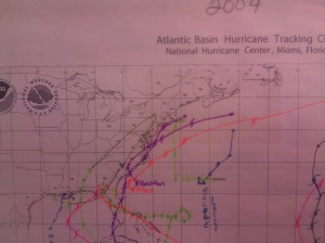 2004 Hurricane Tracker