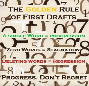 My Golden Rule On Writing First Drafts