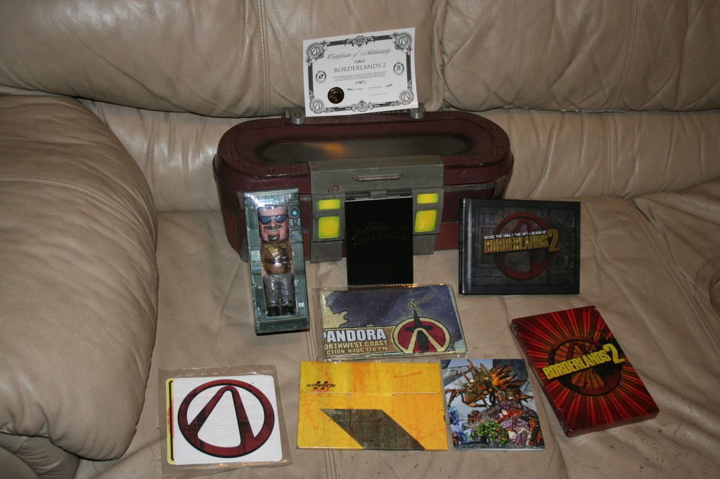 Ultimate Vault Hunter Collector's Edition of Borderlands 2