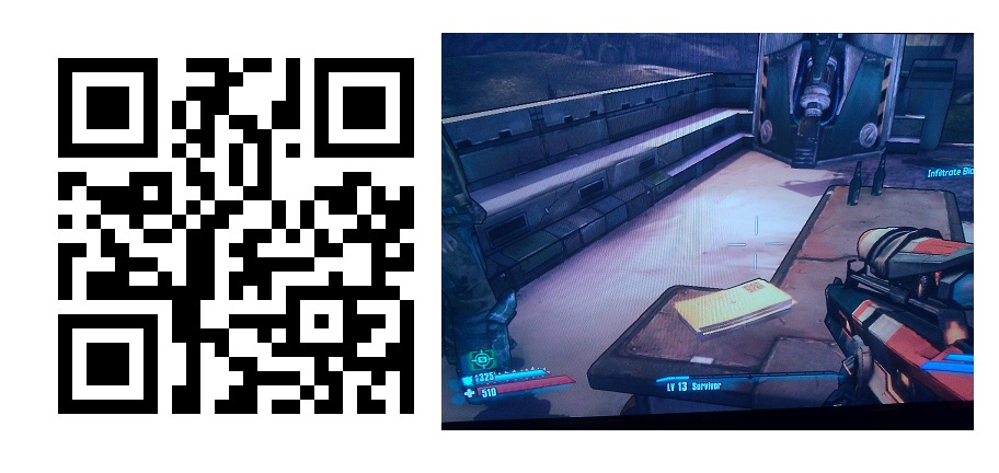 Postcards From The Edge...of Sanctuary QR Code
