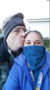 TheHubs and I in TheCold!