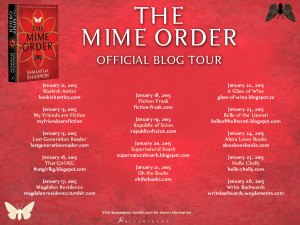 Mime Order Blog Tour schedule